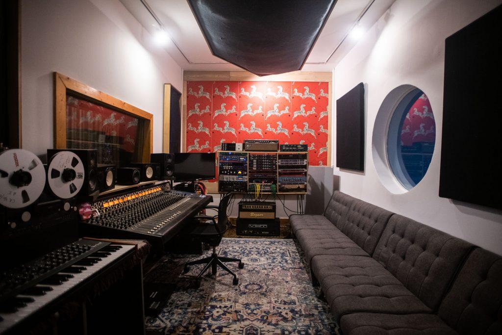 Brooklyn Recording Studio Control Room