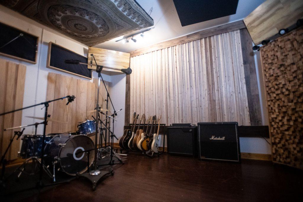 Brooklyn Recording Studio Live Room